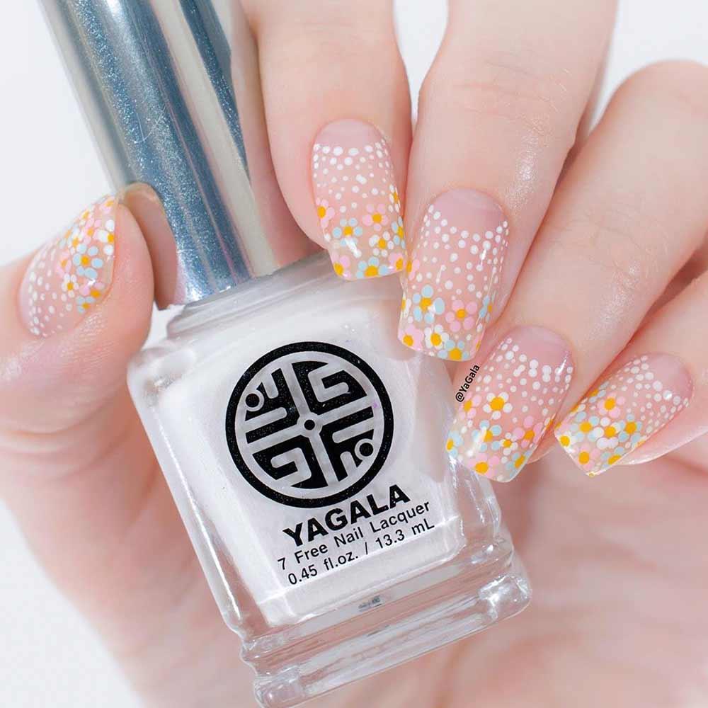 42 Super Pretty Flower Nail Designs To Copy