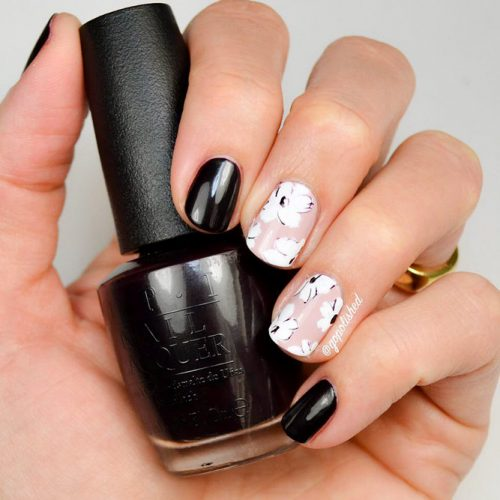 More Colorful Ideas Of Easy Flower Nails Design Picture 5