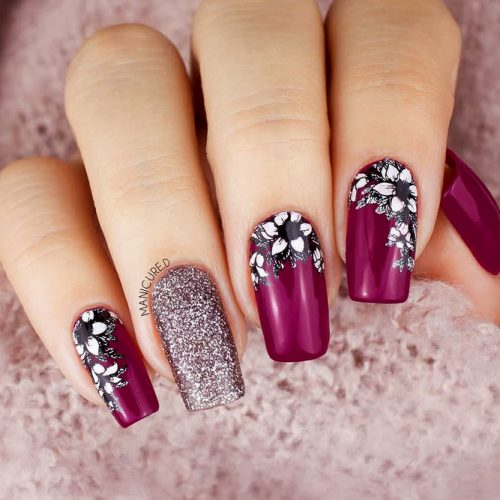Fresh Spring Nail Flowers Picture 3