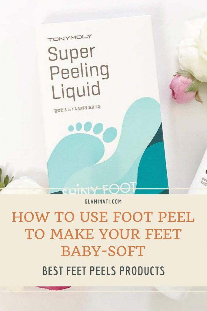 TONYMOLY Shiny Foot Super Peeling Liquid #liquidmask