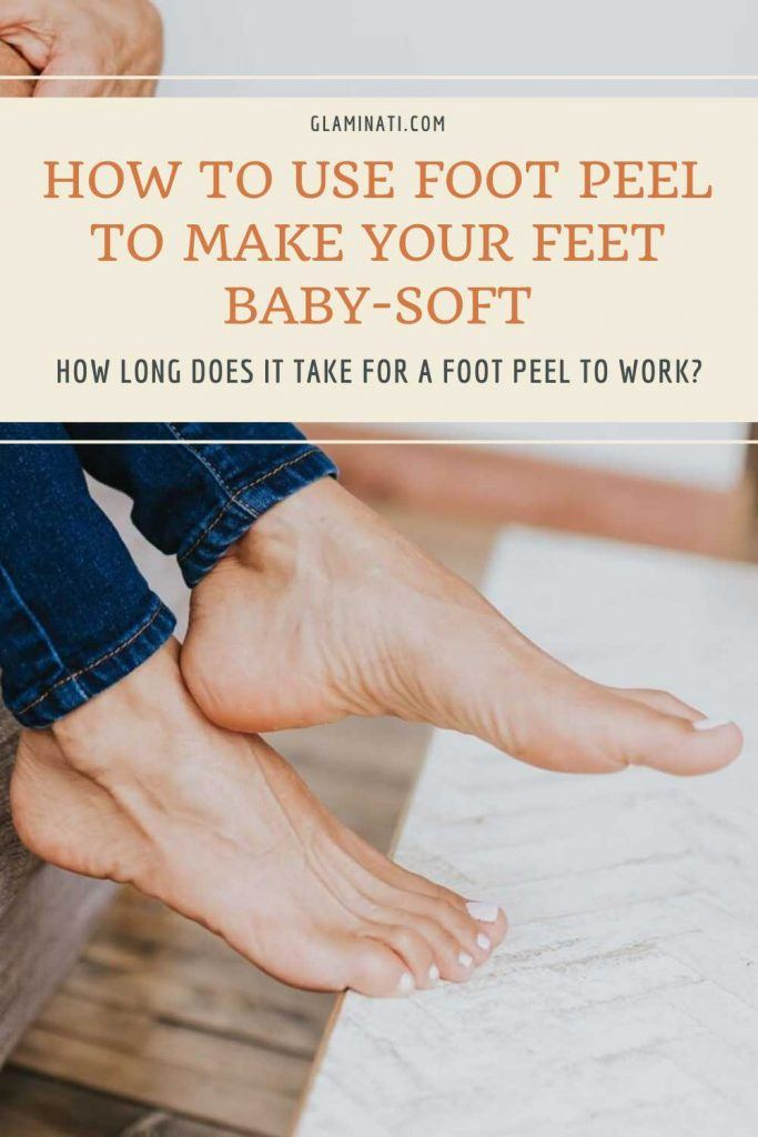 How Long Does It Take For A Foot Peel To Work?