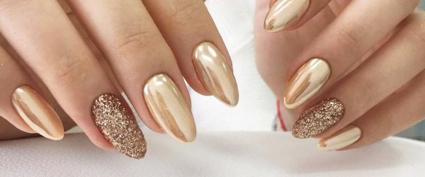 All That Glitters: 33 Gold Nails Designs To Try