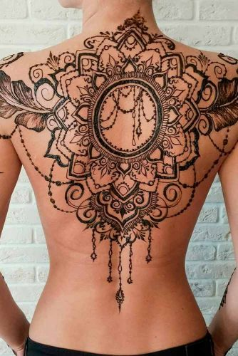 Back Henna Tattoo Designs Picture 1