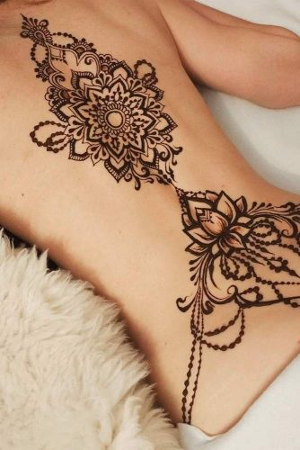 Back Henna Tattoo Designs Picture 2