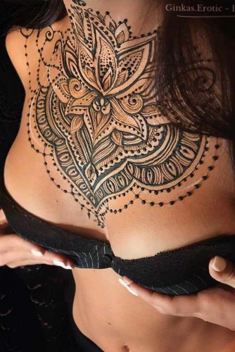 Henna Tattoo Designs For Chest Picture 2