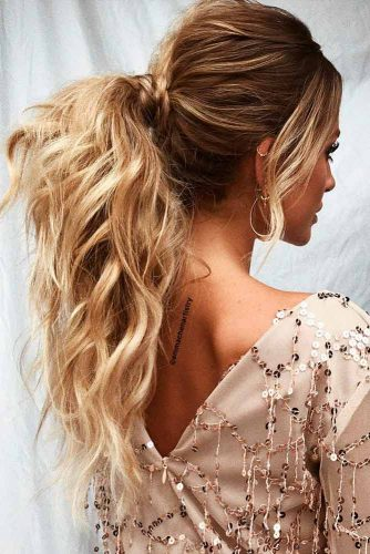 Ponytails Ideas For Long Hair Picture 1