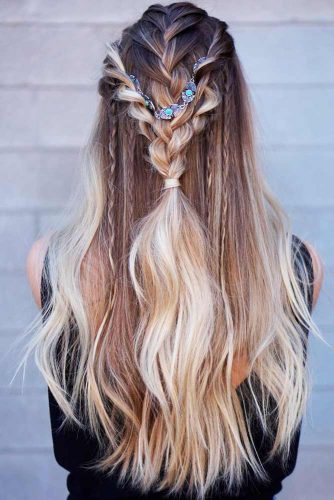 Hairstyles For Long Hair With Braids Picture 3