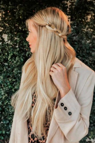 Romantic Half Up Half Down Hairstyles Picture 2