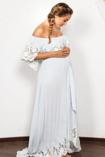 Comfy Boho Maternity Dresses picture 3