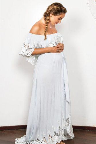 Comfy Boho Maternity Dresses picture 3