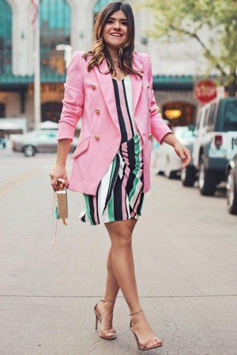 Striped Summer Dress Design #stripeddress