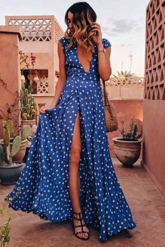 Maxi Dresses For Beach Vacation picture 3