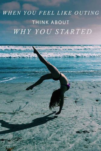 When you feel like outing think about why you started #workoutquots #motivationalquotesaboutlife