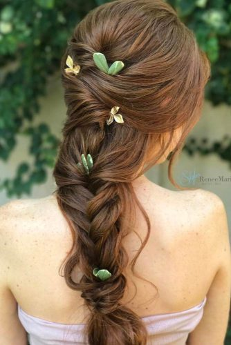 Braided Prom Hair For Boho Effect picture 3