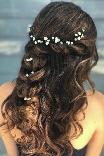 Girly Braided Crowns for Long Hair picture 2