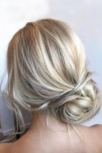 Loose Romantic Updos for Medium Hair picture 1