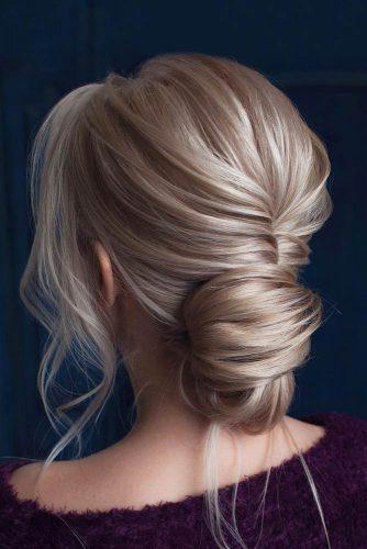 Loose Romantic Updos for Medium Hair picture 3