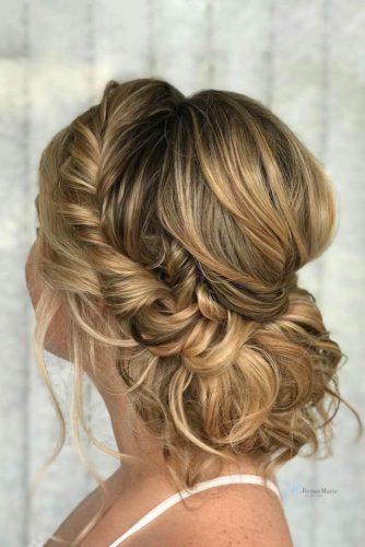 Loose Romantic Updos for Medium Hair picture 2