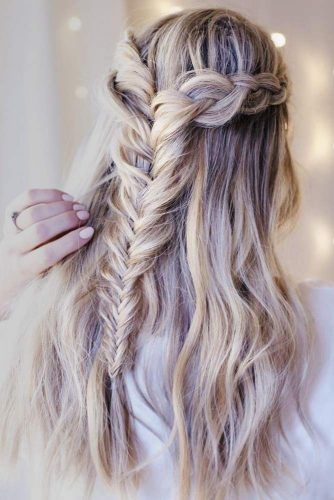 Girly Braided Crowns for Long Hair picture 1