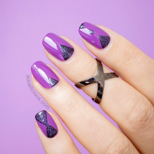 More Ideas For Your Purple Nails Picture 1