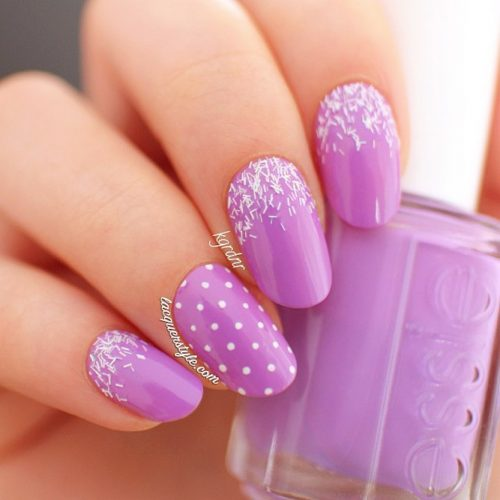Easy Purple Nail Designs Picture 2