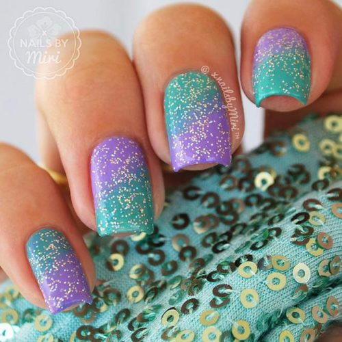 Trendy Purple Nail Designs With Ombre Picture 6