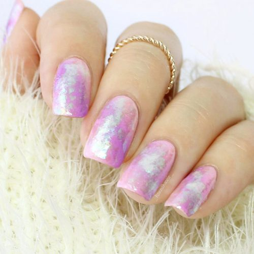 Beautiful Pastel Purple Nails Picture 1