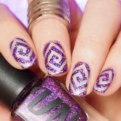 More Ideas For Your Purple Nails Picture 2