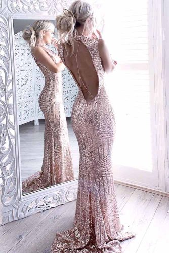 Rose Gold Dresses Designs picture 3
