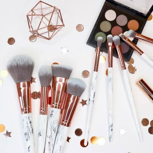 Rose Gold Makeup Brushes picture 1