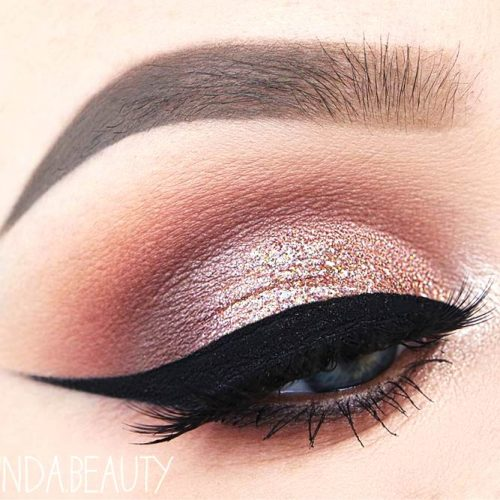 Rose Gold Makeup Ideas picture 3