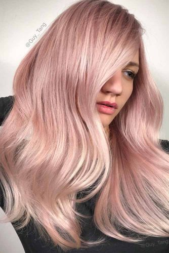 Rose Gold Hair Shades picture 2