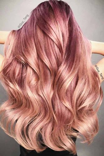 Rose Gold Hair Shades picture 3