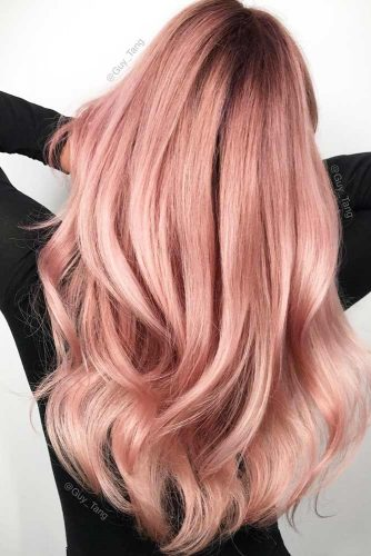 Rose Gold Hair Shades picture 1