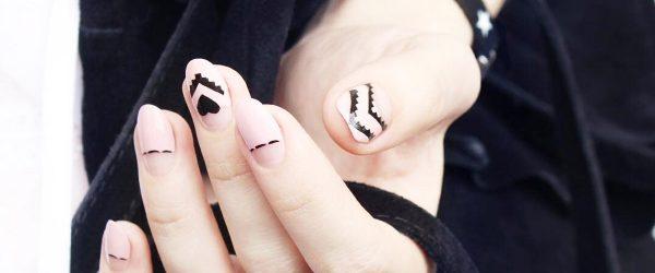 27 Amazing Chevron Pattern Design Nails