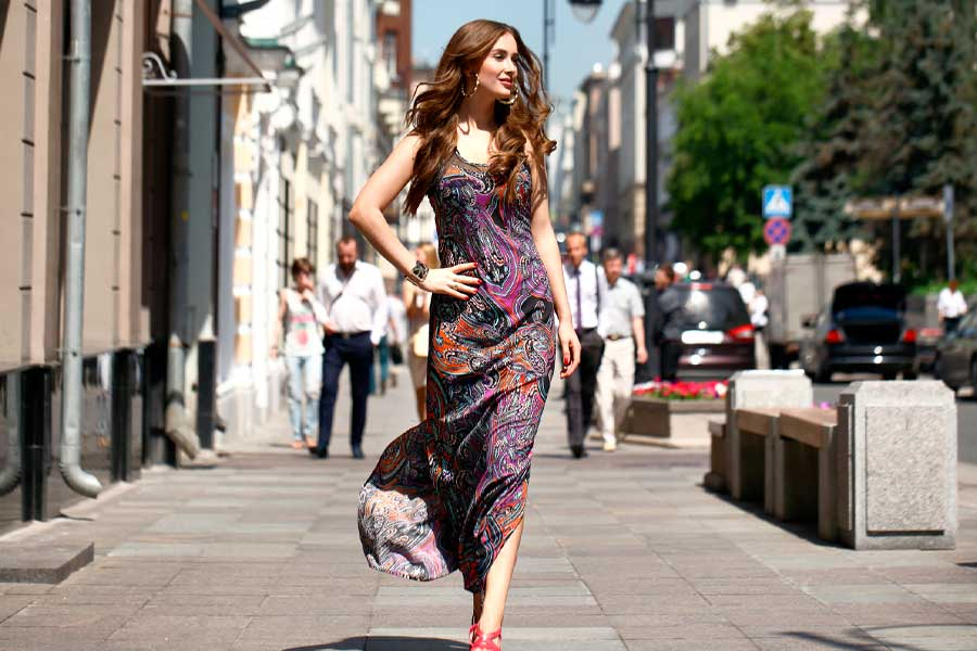 Cute Maxi Dresses - From Boho To Evening Styles