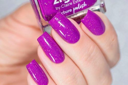 Insanely Hot Purple Nails Designs Trending Right Now