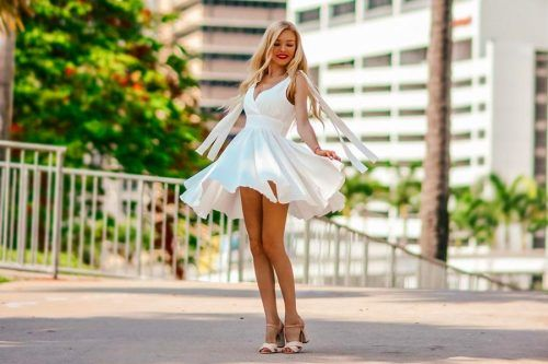 White Dress Designs - Which Are In Trend This Year