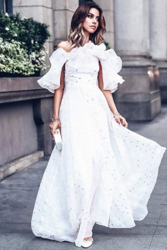 Cocktail White Dresses To Look Like A Princess picture 3