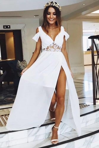 Maxi White Dress Designs For Any Occasion picture 1