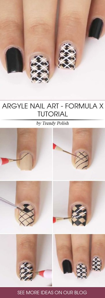 A Darker Side Of Argyle Step By Step - Formula X