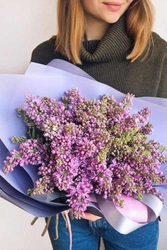 Charming Lilac Blossom #lilac #lilacbouquet #purpleflowers