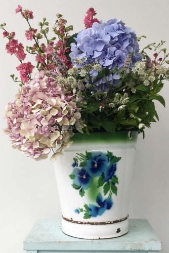 Charm Of Hydrangea Blooms