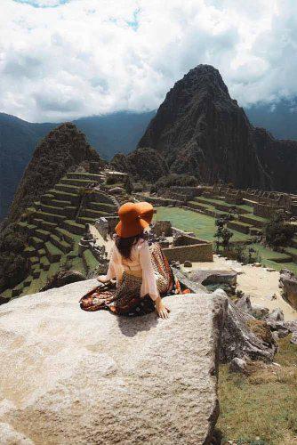 The Incan Citadel Machu Picchu