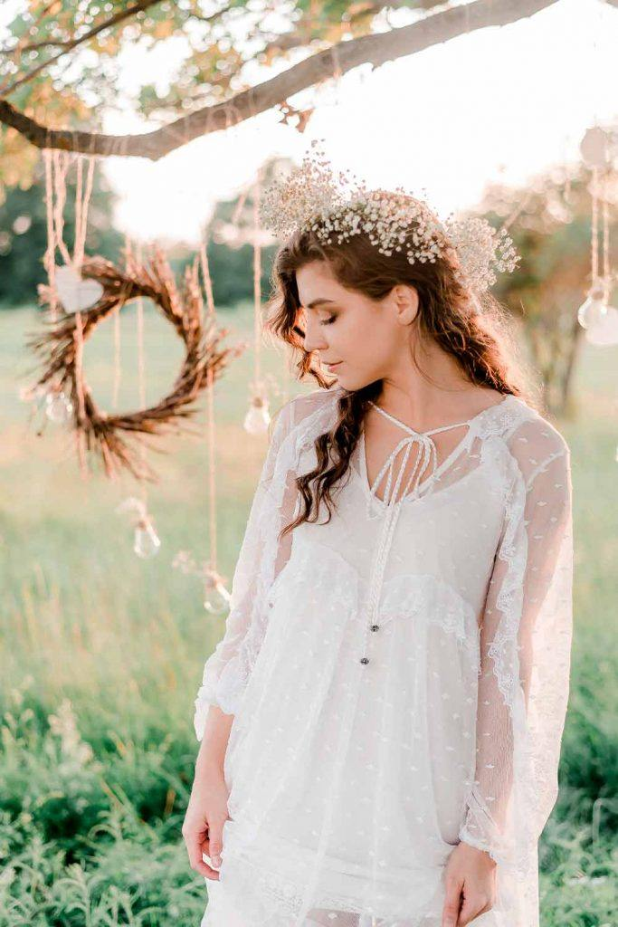 Careless Boho Wedding Style #bride #wedding