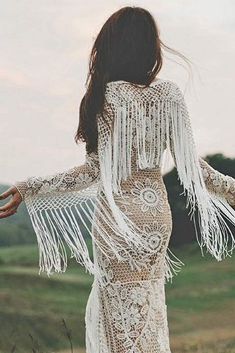 Hippie Style Bride