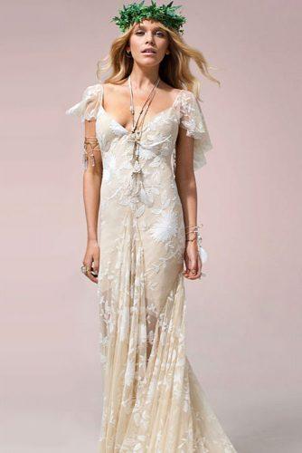 Boho Floral Lace Dress To Feel A Harmony