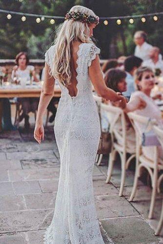Boho Chic Wedding Gown