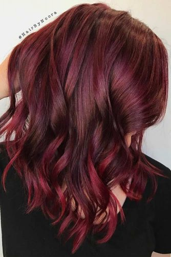 Burgundy Hair Colors picture 3