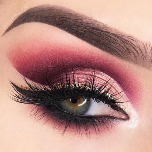 Amazing Burgundy Makeup Ideas picture 2